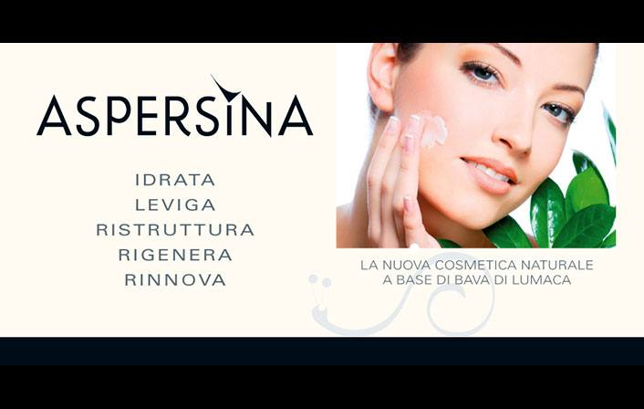 Aspersina: l'esclusiva cosmetica naturale a base di bava di lumaca.