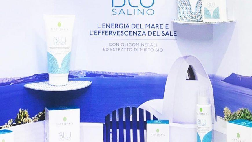 Blu Salino: fresco profumo di mare.