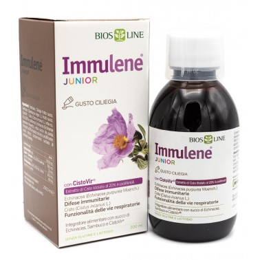 Immulene junior: migliora le difese immunitarie.
