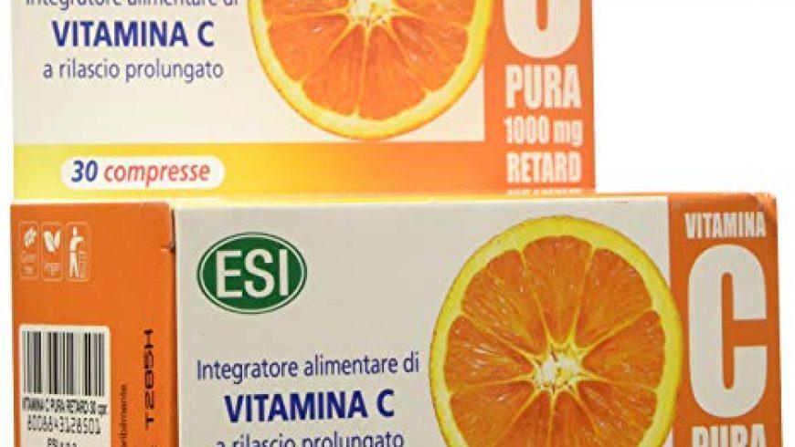 Vitamina C Pura Retard: fortifica il tuo organismo.