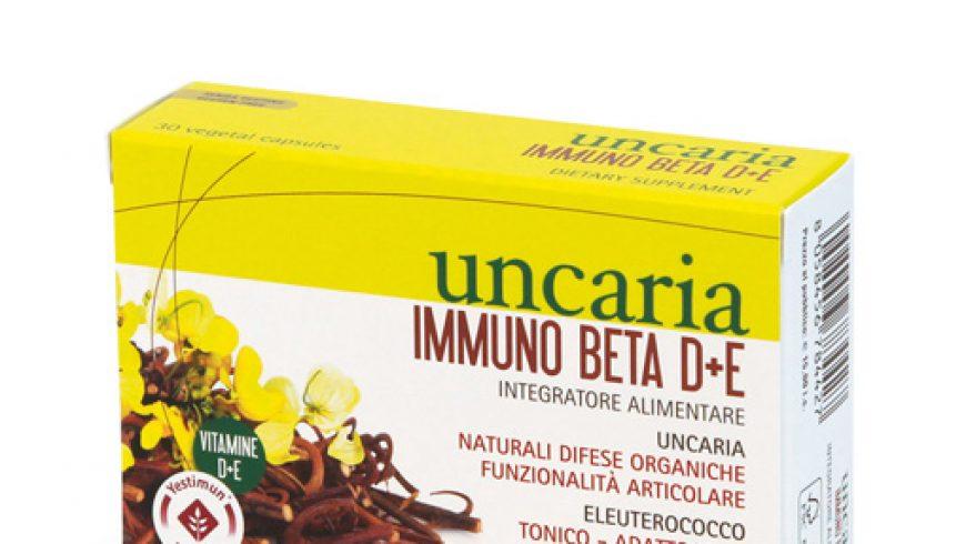 Uncaria Immuno beta D+E: la tattica vincente contro l'attacco degli agenti esterni.